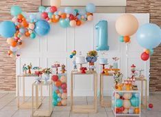 Oh how fun it would be to be one again! This birthday setup uses an array of bright and happy colours, capturing the fun and festivity of turning one! ・・・ Event styling by 1 Year Old Birthday Party, Baby Boy 1st Birthday Party, First Birthday Parties, First Birthdays, Jungle Theme Birthday, Photos Booth, Colorful Birthday, Kids Party Decorations, Partys