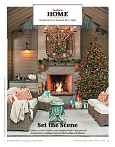 """We carry this Parker James Outdoor Furniture, """"Alyssa"""" that was featured in the Southern Living December 2013 issue!! Furniture available, in store, in Baton Rouge, Lake Charles and Lafayette (Kaliste Saloom location) www.sabinepools.com"""