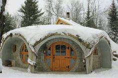stone masonry round house