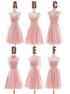 Same Colour In Different Styles Bridesmaid Dresses For Simmon Color