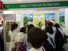 Tâm Thảo tham dự Triển lãm Quốc tế Thực phẩm và Đồ uống Việt Nam lần thứ 18 năm 2014 | Trà Lá Sen - Trà Thảo Dược Giảm Cân An Toàn