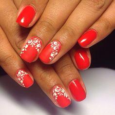 ! Red And White Nails, Red Nails, Hair And Makeup Tips, Hair Makeup, Red Nail Designs, Nail Colors, Health, Pretty Toe Nails, Feet Nails