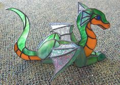 dragon stained glass pattern and - Quoteko.com