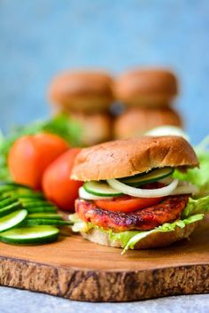 Celebrate Fall with this VEGAN Sweet Potato Burger that reflects the colors of the season in it's ingredients - Sweet Potato, Beetroot & Bell Peppers