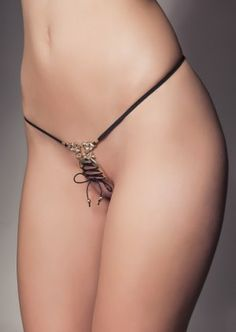 Sylvie Monthulé String Bijou Deshabillage ST77 | Sylvie Monthulé Erotic Lingerie…