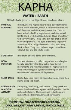 My dosha as well, (more mentally then physically) Physically I am more Vata.