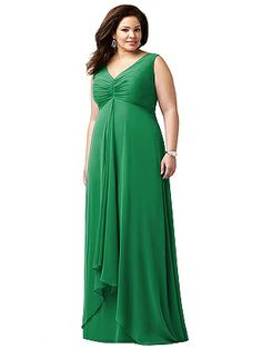 Lovelie Plus Size Bridesmaid Style 9002 http://www.dessy.com/dresses/bridesmaid/9002/