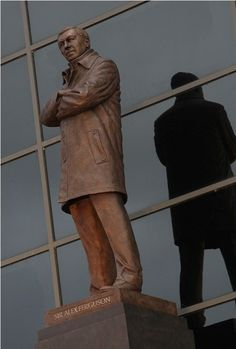 Sir Alex Ferguson Statue - Sir Alex Ferguson Stand, Old Trafford, Manchester