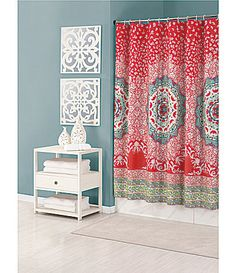 1000 Ideas About Colorful Shower Curtain On Pinterest