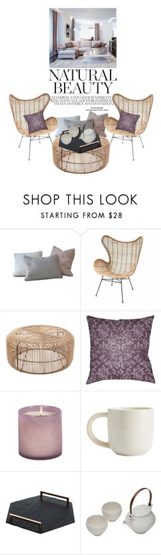"""Home"" by reginakos ❤ liked on Polyvore featuring interior, interiors, interior design, home, home decor, interior decorating, Décor 140, LAFCO, Pottery Barn and The Just Slate Company"