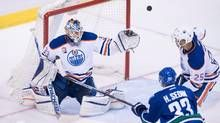 Connor McDavid and Cam Talbot have Oilers off to competent and confident start Connor Mcdavid, Hockey Stuff, Edmonton Oilers, Confident, Waiting, News, Sports, Hs Sports, Sport