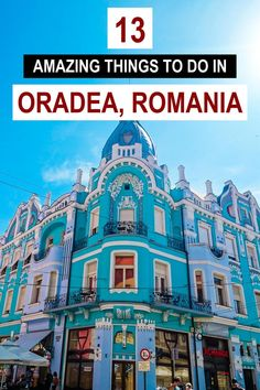 13 Amazing Things To Do In Oradea, Romania - Jack and Gab Explore Cool Places To Visit, Places To Travel, Travel Destinations, Europe Travel Guide, Budget Travel, Travelling Europe, Travel Ideas, Travel Tips, Traveling