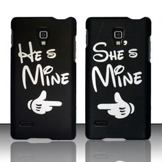 Cell Phone Case Cover Matte Snap ON FOR LG Optimus L9 T Mobile Cute Couple | eBay