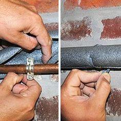 poser des manchons pour tuyaux
