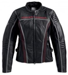 (97155-13VW) One of the new women´s leather jackets from the Harley-Davidson Spring collection 2013. Do you like it?