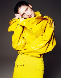 Marie Piovesan by Gianluca Fontana for W Magazine Korea November 2013