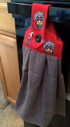 Hey, I found this really awesome Etsy listing at https://www.etsy.com/listing/200941144/ohio-state-buckeyes-oven-towel