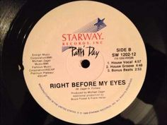 Patti Day - Right Before My Eyes (House Vocal Mix) - YouTube