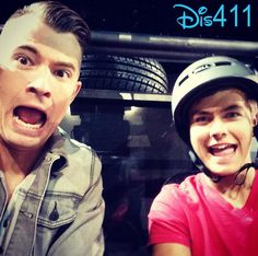 Photos: Peyton Meyer With Radio Disney's Morgan Tompkins For Marvel Universe LIVE!