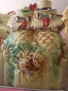 McCoy Owls Cookie Jar