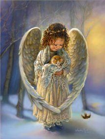 Winter Angel  by Sandra Kuck