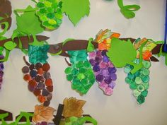 I am the vine you are the branches. Fall Crafts, Diy And Crafts, Crafts For Kids, School Art Projects, Projects For Kids, Art Lessons, Halloween, Vines, Activities For Kids