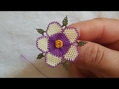 Menekşe Çiçeği Yapımı ÇOK ÇOK KOLAY☺ - YouTube