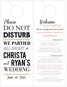Personalized Door Hanger / Wedding Door by NicsKnacksDesigns