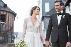 Tamar Kaprelian and Chris Stang's Wedding in Normandy