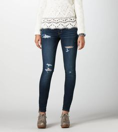 my dream, ripped yet still cute, jeggings