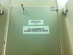 This bathroom notice: | 22 Signs That Demand An Explanation