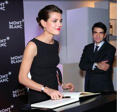 Charlotte Casiraghi a dinner at the President Wilson Hotel Montblanc announced Charlotte Casiraghi as its new global brdand ambassaor during the Salon International de la Haute Horlogerie on January 19, 2015 in Geneva, Switzerland.