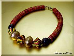 Afrika antik - Traumcollier von Dream-Colliers auf DaWanda.com