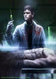 Herbert West, reanimator by blewzen on DeviantArt