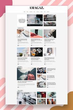 Amagaz is a modern WordPress theme that lets you write articles and blog posts with ease. We offer great support and friendly help! This theme is excellent for a news, newspaper, magazine, or publishing site. Make your content more appealing, engaging and usable. Get Amagaz today and be setup in minutes! #wordpresstheme #magazinewordpress #websitewordpress