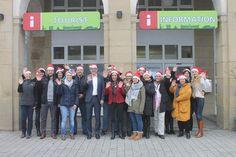 Wir verabschieden uns heute von Euch in den Weihnachtsurlaub und wünschen Euch eine schöne Weihnachtszeit! Wir das Team von Karlsruhe Tourismus haben dieses Jahr auf Weihnachtsgeschenke verzichtet und unterstützen dafür die Arbeit der Flüchtlingshilfe Kriegsstraße 200.