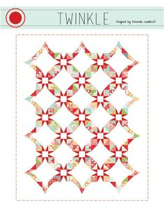 Twinkly quilt patter cover image