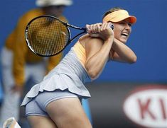 Australian Open Maria Sharapova slides into third round; Garbine Muguruza, Johanna Konta thumped out Maria Sharapova Hot, Sharapova Tennis, Ana Ivanovic, Anna Kournikova, Maria Sarapova, Tennis Players Female, Beautiful Athletes, Sport Tennis, Wta Tennis