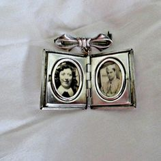 WWII Sterling Charm Locket Sweetheart Book by SilverFoxAntiques