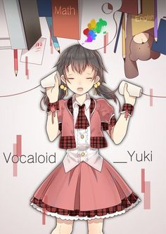 Yuki .vocaloid. Hatsune Miku, Kaai Yuki, Vocaloid Characters, Mikuo, Cool Girl, Singer, My Favorite Things, Collection, Number 7