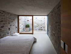 Wespi & de Meuron. Stone House KÜ in Brione sopra Minusio, Ticino, Switzerland. 2003-2005. Photography Juan Rodriguez