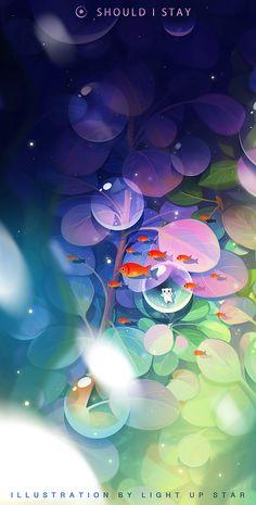有空多画画(Part13)|插画|插画习作|liuxinx1230 - 原创作品 - 站酷 (ZCOOL) Animes Wallpapers, Cute Wallpapers, Fantasy Art Landscapes, Anime Scenery Wallpaper, Art Background, Cartoon Background, Kawaii Wallpaper, Illustrations And Posters, Held