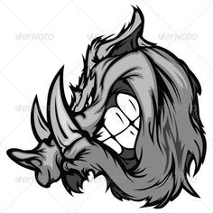 Buy Boar Razorback Cartoon Face Vector Illustration by chromaco on GraphicRiver. Cartoon Vector Image of a Boar Razorback Mascot Head Wild Boar Hunting, Hog Hunting, Logo Luxury, Face Illustration, Illustration Animals, Cartoon Faces, Logo Concept, Graphic, Images