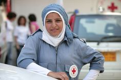 Lebanese Red Cross volunteer - IFRC