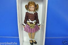 2009-HELEN-KISH-DOLL-CHRYSALIS-LARK-MY-FIRST-HEELS-COA-NIB-15. BIN $299.00.This doll was relisted and before auction end, was dropped from $299 to $239 and no sale (3/28/15) Same night, another doll like this sold for $245.