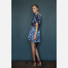 Palm Tunic Blue, $166.75, now featured on Fab.