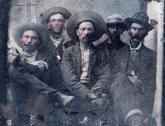 Experts Say Photo of Billy the Kid, Lawman Is Real Deal. Experts now believe a photo purchased at a flea market shows Billy the Kid with the lawman who killed him. Billy Kid, Billy The Kids, Sheriff, Pat Garrett, Famous Outlaws, Affiliate Partner, Tintype Photos, Advertising Strategies, Le Far West