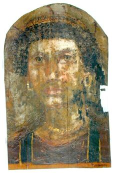 Mummy Portrait UC38059 -The Petrie Museum of Egyptian Archaeology, London.