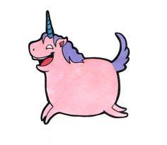 Fatty Unicorn Tattoo by `kangel on deviantART