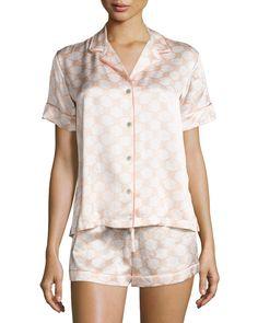 9814365d99 Natori Geo-Print Shortie Pajama Set